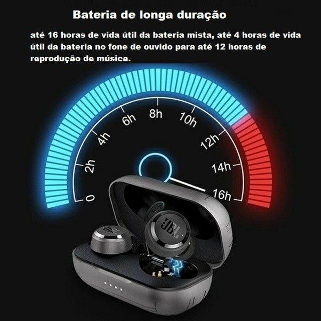 Fone De Ouvido JBL Original Com Bluetooth 5.0 / Mini Compartimento De Carregamento - Foto 5
