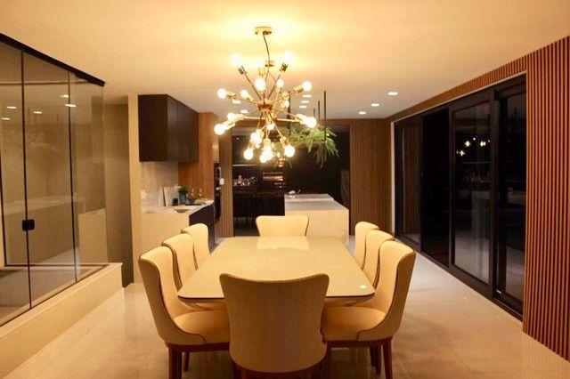 Maravilhosa casa de condomínio com 4 suítes Alphaville Litoral Norte 1 Camaçari BA - Foto 7