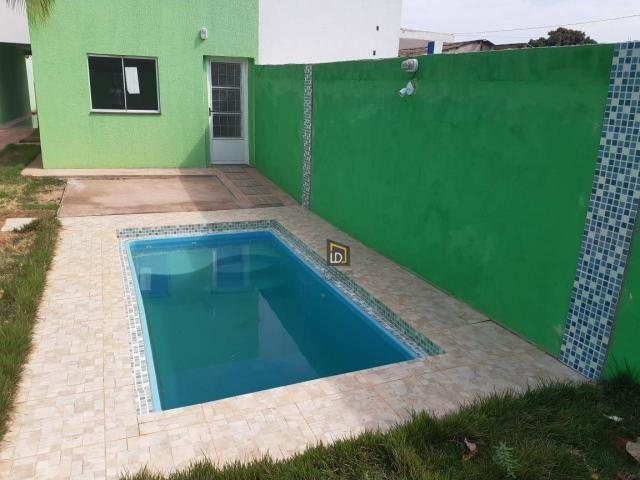Casa com 2 dormitórios à venda, 91 m² por R$ 195.000 - São Simão - Várzea Grande/MT - Foto 15