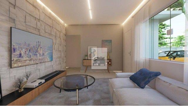 Excelente casa linear com 3 dormitórios à venda, 70 m² por R$ 310.000 - Enseada das Gaivot - Foto 18