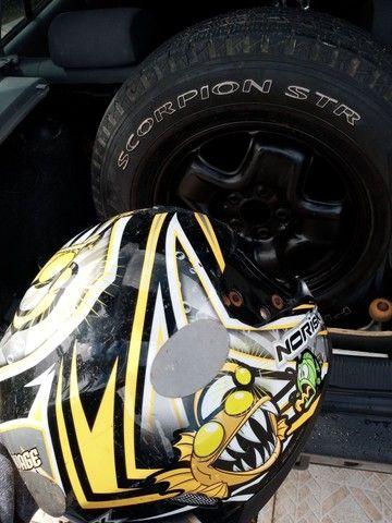 Vendo capacete norisk original sem viseira - Foto 3