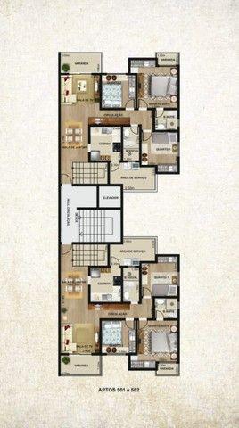 Recanto da Mata - Cobertura de 150 m² com 3 quartos elevador e duas vagas - Foto 3