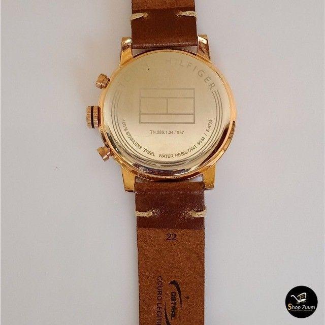 Relógio Tommy Hilfiger Pulseira Couro (Entrega imediata Barreiras) - Foto 2