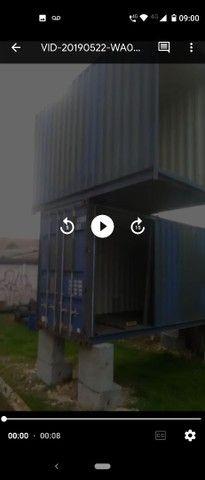 Container hc 40 ...duas partes já estruturado - Foto 3