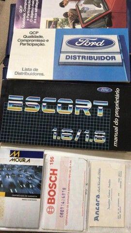 Escort XR3 1989 - Foto 8