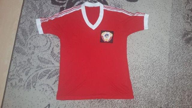 Kit 4 Camisas De Futebol Relíquias P/ Colecionadores - Foto 3