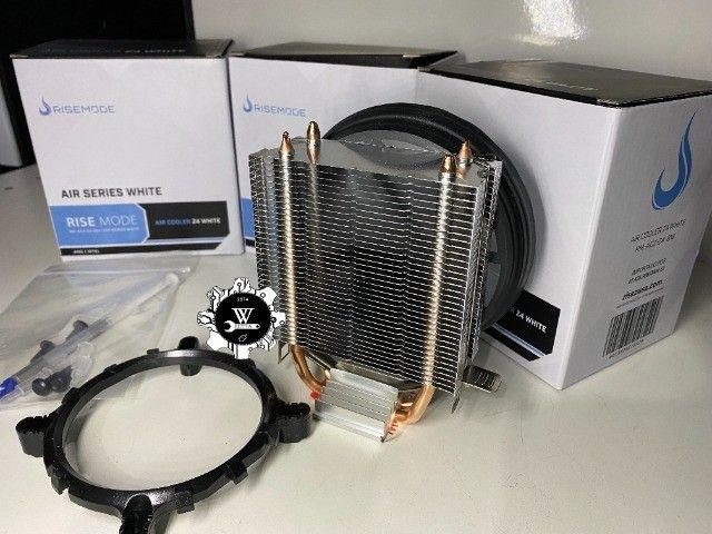 Air Cooler Processador Rise Mode Z4 120mm AMD Intel - Foto 5