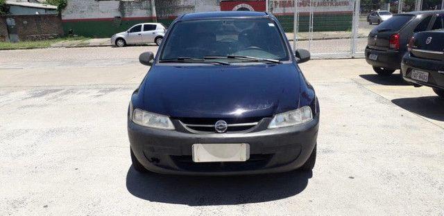 Chevrolet Celta 1.0 8V 2004 Azul Confira ! - Foto 5