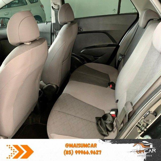 Hyundai HB20S - Unique - 1.0 -  2019 - 20.000Km - Preto - Foto 8