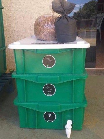 Composteira doméstica - Foto 2