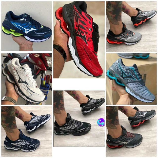 Vendo tênis Mizuno wave creation e adidas ( 120 com entrega)