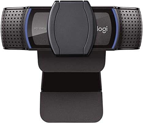 Webcam Full HD Logitech C920s com Microfone, 1080p Widescreen