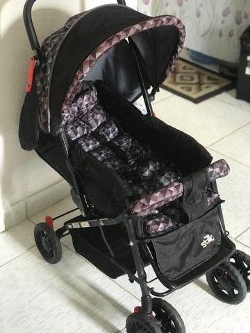 Carrinho de bebê Stillo Unissex - 0 a 15kg - Foto 2