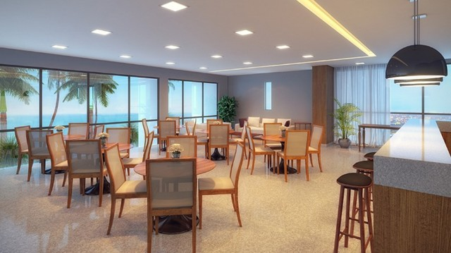 RS - Lançamento na Beira Mar de Casa Caida - 144m² | Varanda Gourmet Holanda Prime - Foto 7