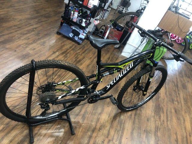 Bicicleta specialized camber 2019 tamanho M (usada) - Foto 4