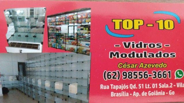 Lojas em vidros modulados é c/ TOP-10 - Foto 4