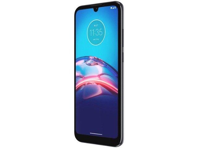 Smartphone Motorola Moto E6i 32GB Cinza Titanium - 4g 2gb ram - Na Caixa - Foto 4