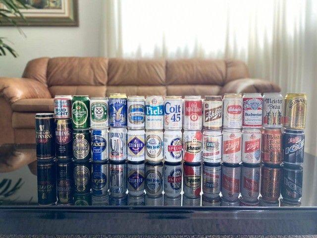 Latas de cerveja para colecionador - Foto 6