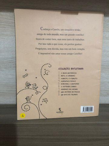 Livro Camilão, o Comilão - Foto 2