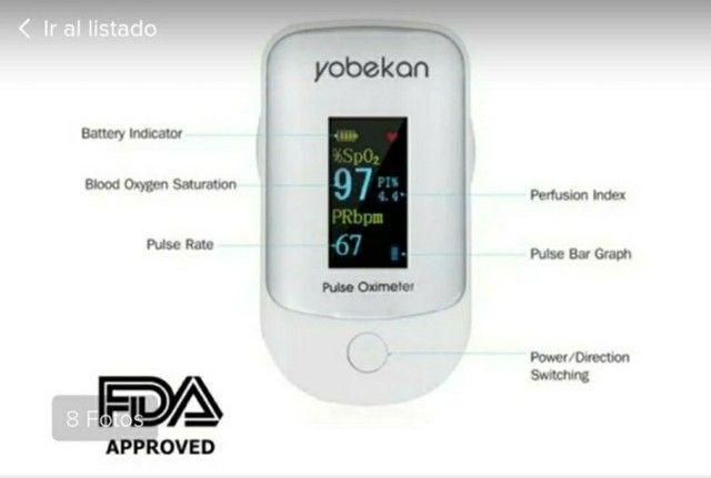 Oxímetro Yobekan Aprovado pela FDA