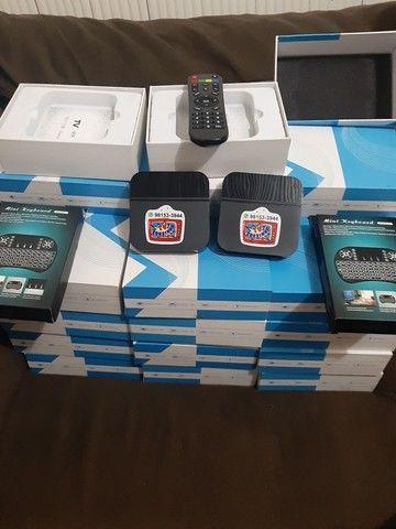 TV BOX com mini teclado 210 - Foto 2