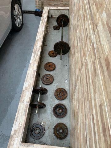 Anilhas com barras - Foto 2