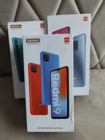 REDMI 9 da Xiaomi.. Saldão 2020!! NOVO lacrado Garantia e entrega hj