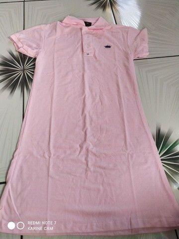 blusas gospel/vestido pollo - Foto 3