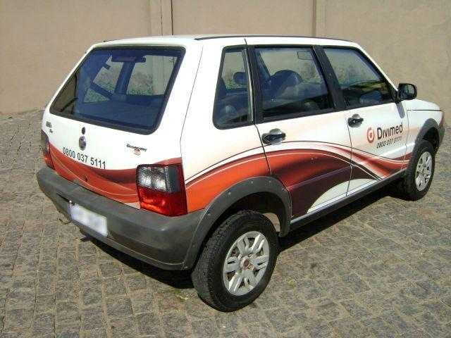 FIAT UNO MILLE WAY ECONOMIC 12-13 COM AR CONDICIONADO