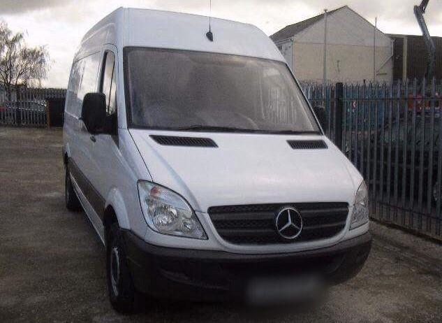 Van sprinter Mercedes benz