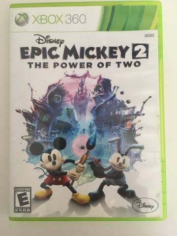 Jogo Xbox 360 Epic Mickey 2 The Power of Two