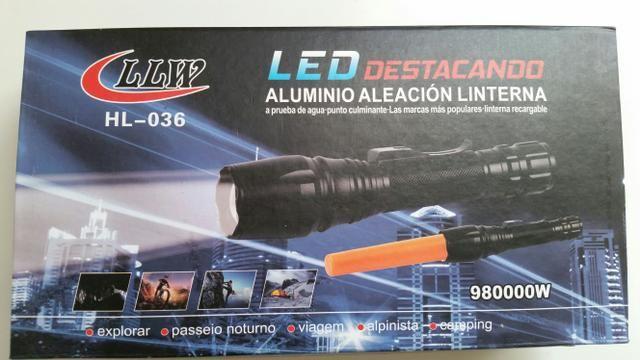 Lanterna tática T6 / 980.000w em Macaé