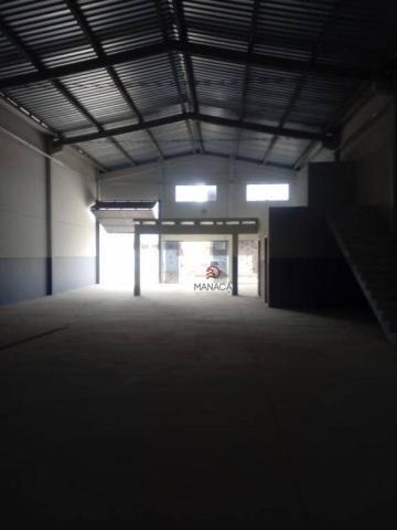 Galpão para alugar, 313 m² por r$ 3.500,00/mês - itajuba - barra velha/sc - Foto 7