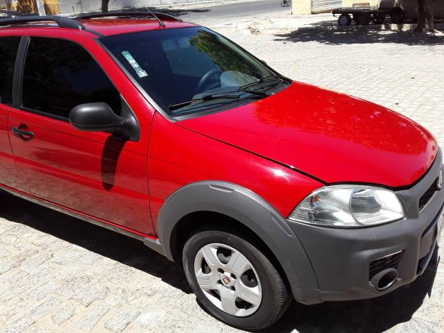Fiat Strada Working 1.4 vermelha Apenas Venda - Foto 9