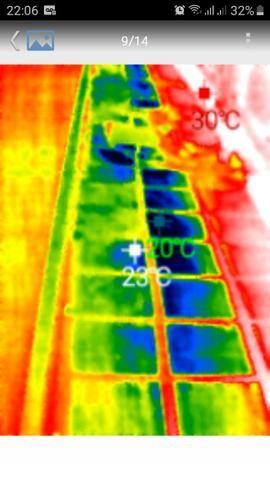 Câmera térmica para tel. celular android, res. 220 x 160 - Foto 5