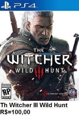 The Witcher III de Play 4