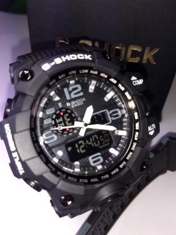 62d45be1135 Relógio de Pulso Masculino Casio G-Shock Mudmaster Digital Analógico -  Várias cores