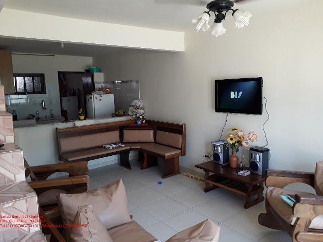 PC103 Linda Casa Duplex 2 Qtos, mobiliada, em Iguaba, Condomínio Lagoa Azul - Foto 3