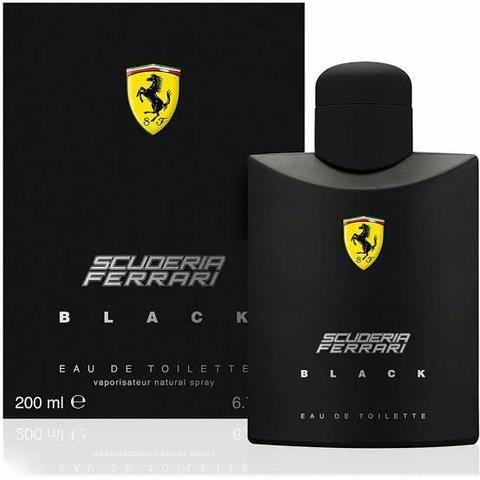Perfume Ferrari Black 200ml mega promoção - Foto 3