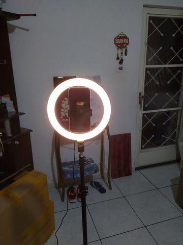 RING LIGHT LED DEZ POLEGADAS - Foto 2