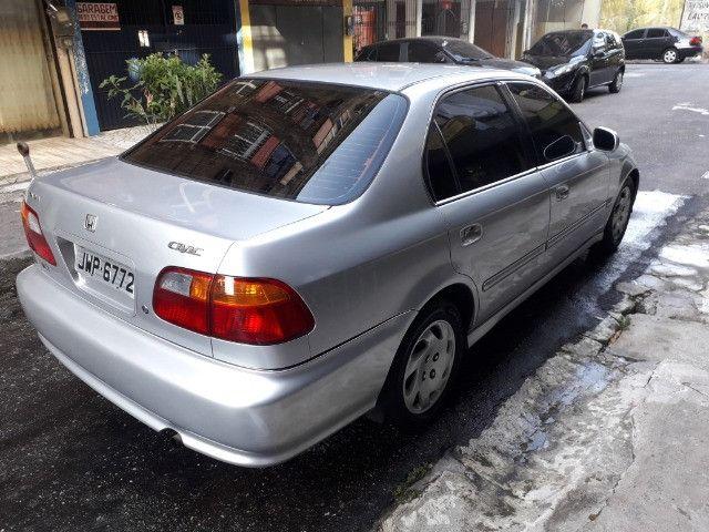 Honda/Civic LX 2000 1.6 Automático - Foto 3