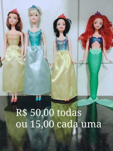 Barbies e outras (preços nas fotos) - Foto 2