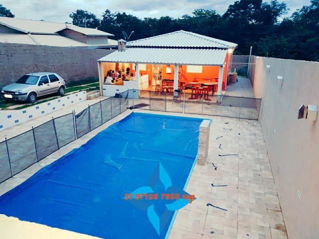 Lindo sítio barato piscina casa colonial 3qts pomar produzindo mil m2 murado canil