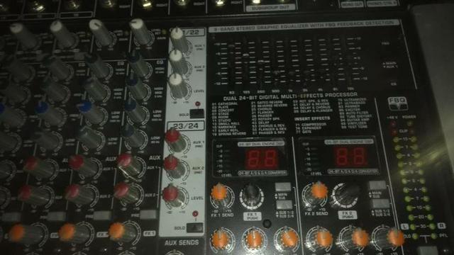 Mesa de som profissional behring - Foto 2