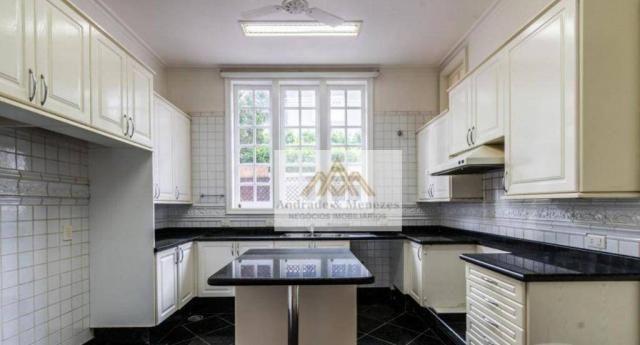 Sobrado com 5 dormitórios para alugar, 1120 m² por R$ 25.000,00/mês - Condomínio Country V - Foto 15