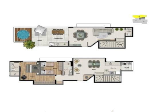 Cobertura à venda com 2 dormitórios em Serra, Belo horizonte cod:19431 - Foto 4