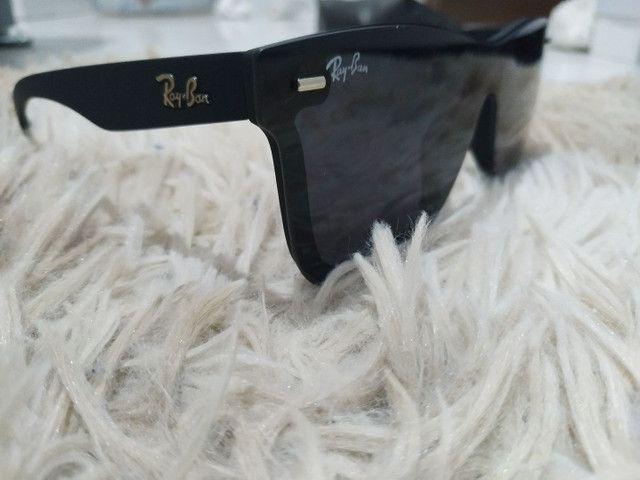 Óculos de Sol Ray Ban Tela Reta - Foto 2