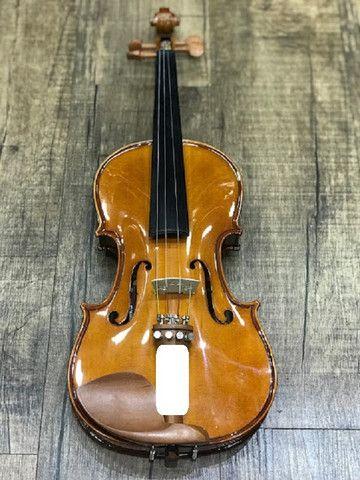 Violino 4/4 Eagle Ve441 Series limitada Caramelo Ccb tampo spruce completo - Foto 4