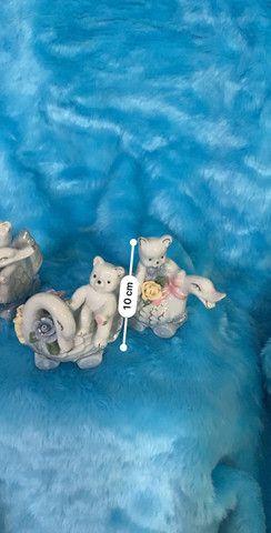 Porcelana conjunto com 3 peças