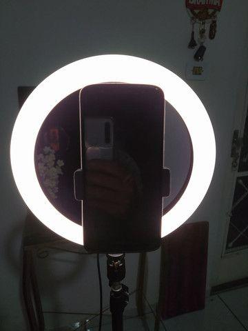 RING LIGHT LED DEZ POLEGADAS - Foto 3